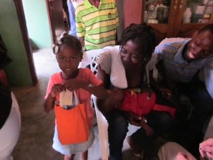 Hygiene packs for Ford Haitian Orphanage