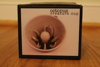 A new favorite discovery: the octopus creature cup
