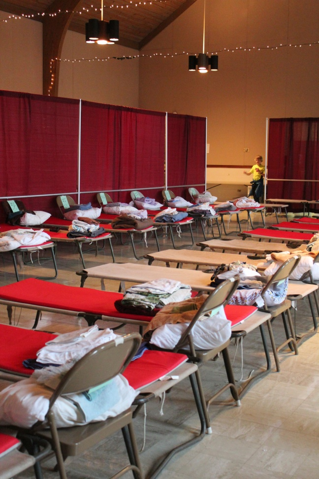 PACEM temporary homeless shelter