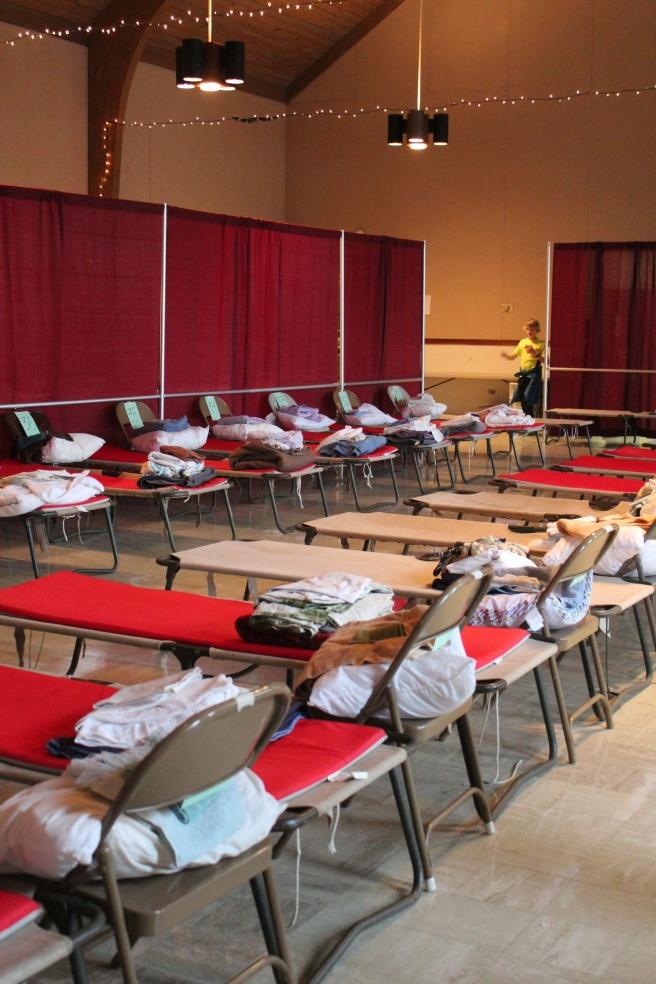 PACEM temporary homeless shelter