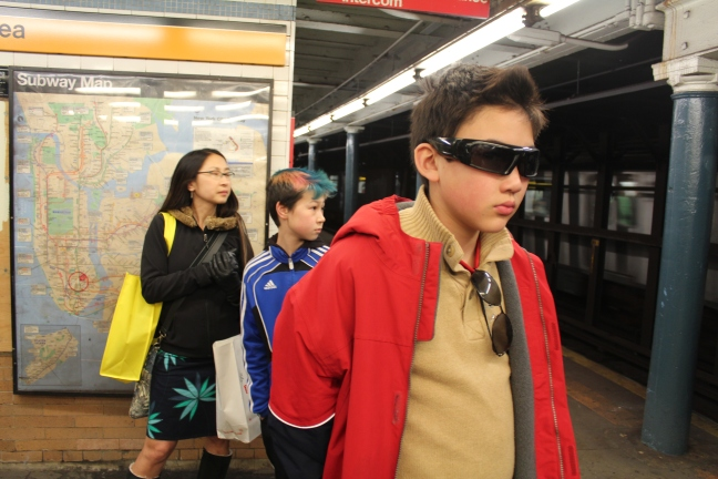 Video-recording spy glasses? Check.