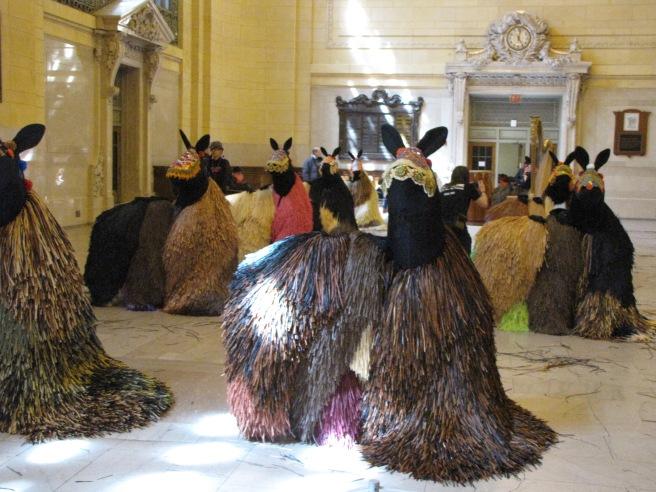 Nick Cave horses