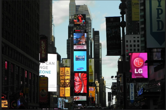 Times Square by Noah