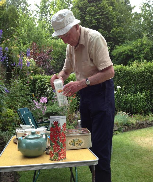 Tea in the garden