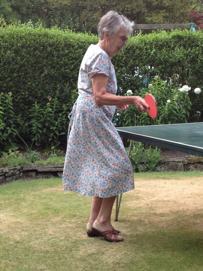 Granny's got game...