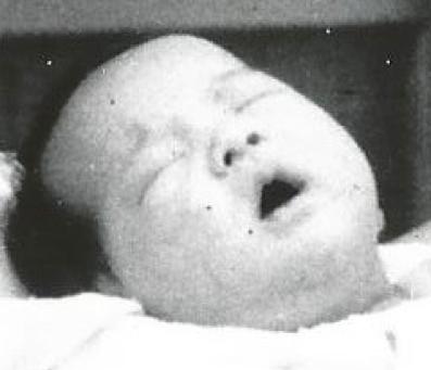 Close-up baby