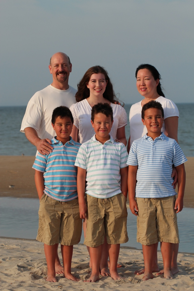 My sister's family