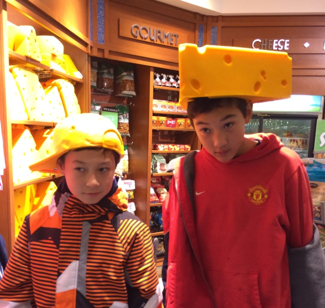 A couple of Cheeseheads!
