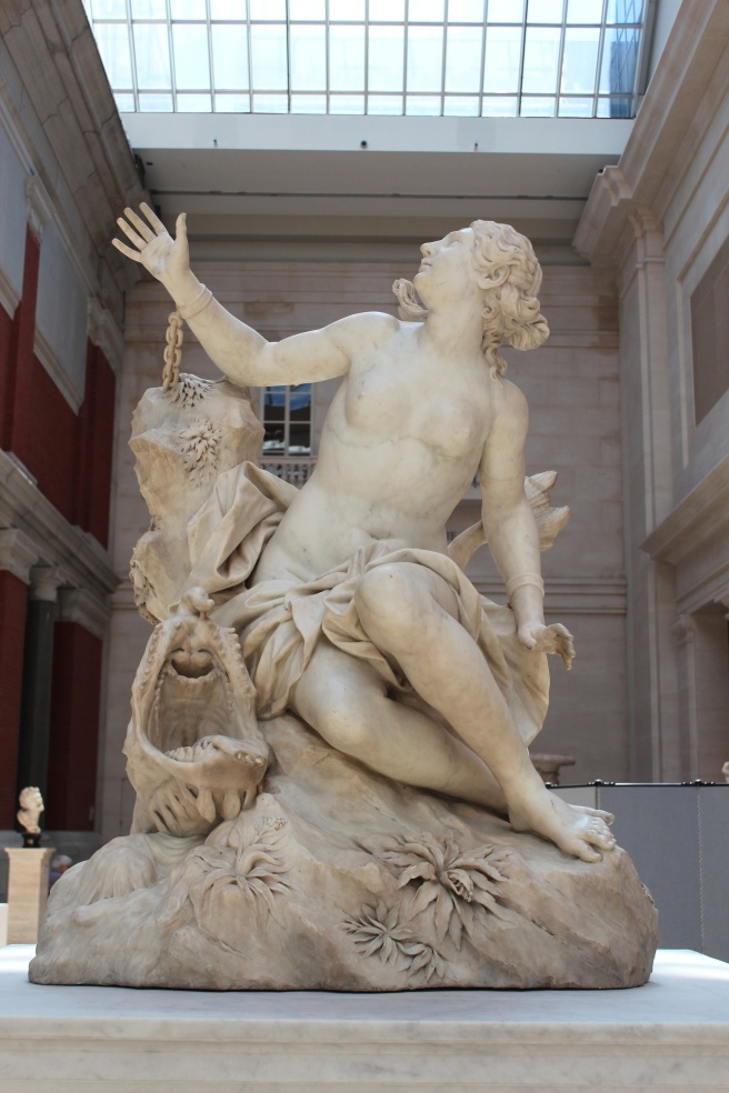 Andromeda and the Sea Monster, Domenico Guidi, 1694
