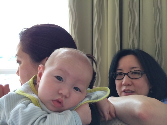 """My Harpy sisters Amelia, Annabelle, and the baby NOT named """"Ameliabelledrienne"""""""