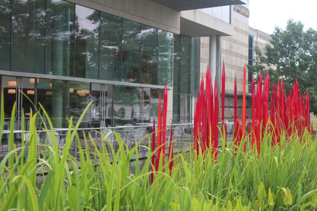 Red Reeds, Dale Chihuly