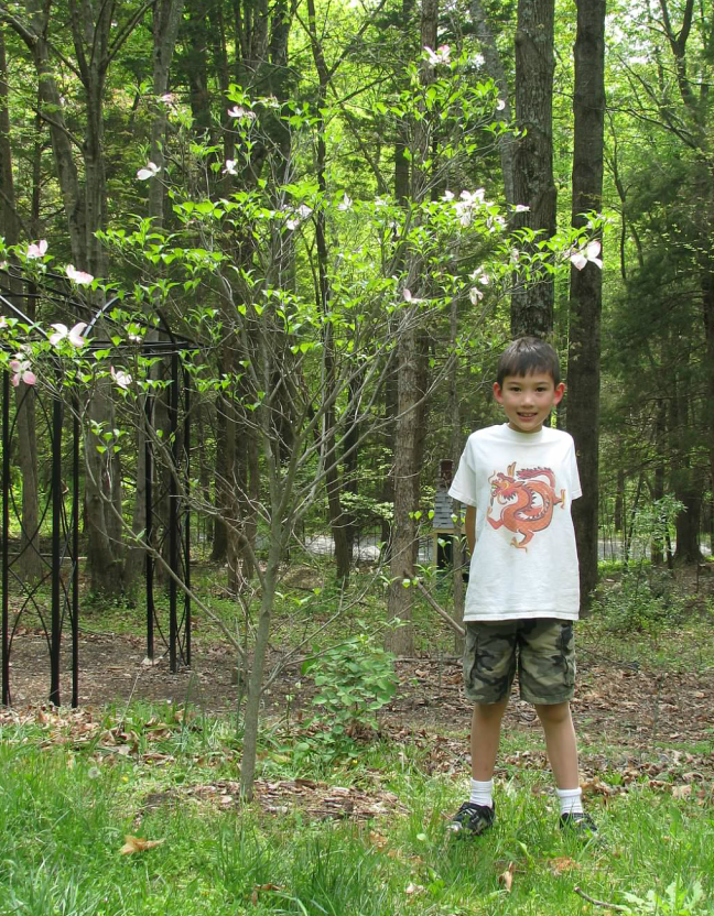 Seven years ago, age 8