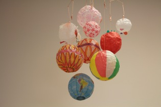 Paper balloons from uguisustore.com