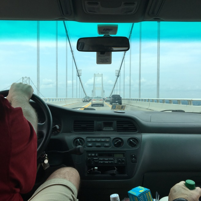 Crossing the Bay Bridge