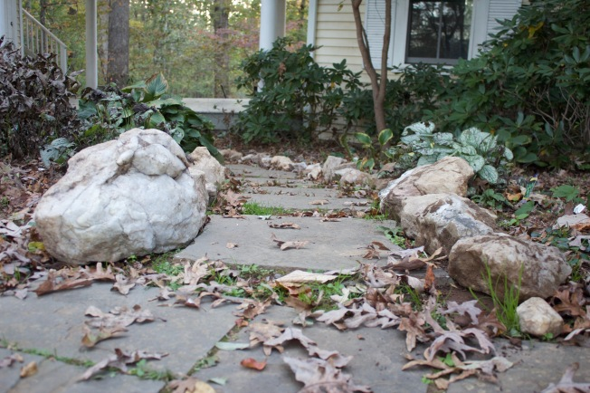 Move over sisyphus o wonderful wonderful for Crushed oyster shells for landscaping